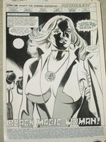 Dazzler Splash page - Frank Springer art