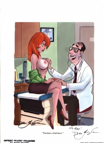 Dean Yeagle Kind Heart published  Playboy sexy