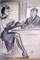Bill Ward Conte Crayon - Large