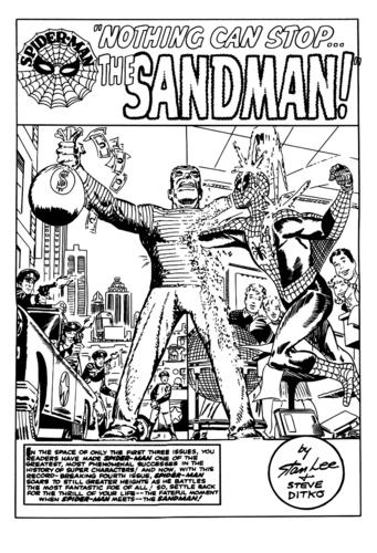Amazing Spiderman #4 Splash Page