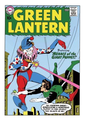 Green Lantern #1 Silver Age