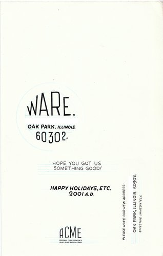 Ware Holiday Card