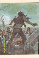 Tales of the Zombie Unused cover variation Earl Norem  original